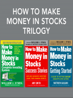 Bộ Sách 3 Cuốn How to Make Money in Stocks của William J O'Neil