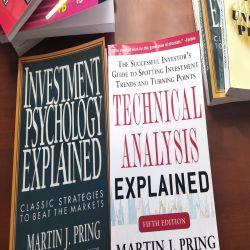 Bộ Sách Technical Analysis Explained và Investment Psychology Explained của Martin J Pring